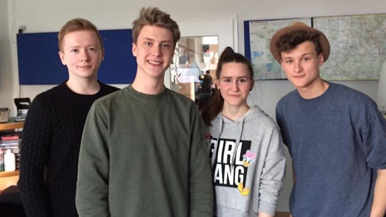 Matti Karstedt: Junge Liberale zu Gast bei Radio Potsdam