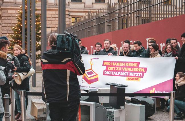 Matti Karstedt: Brandenburgs FDP-Jugend kämpft für Digitalpakt