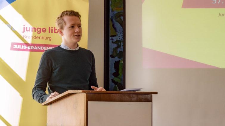 Matti Karstedt: 57. Landeskongress der Jungen Liberalen in Luckenwalde
