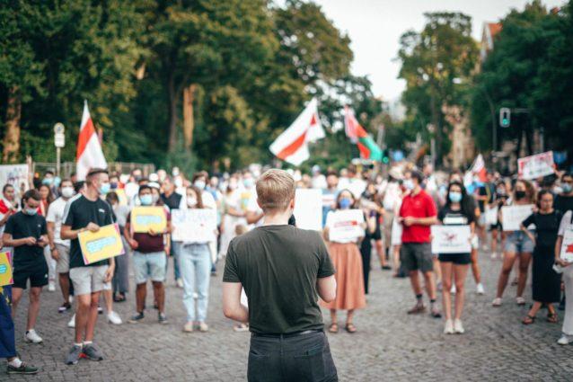 Matti Karstedt: Жыве Беларусь! – Spontandemo für Demokratie und Menschenrechte